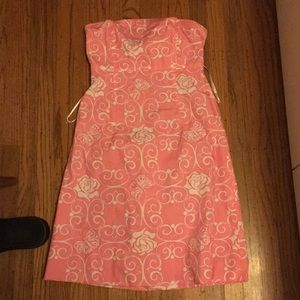 Lilly Pulitzer Pink Floral Dress 4